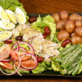 Walleye Salad Nicoise