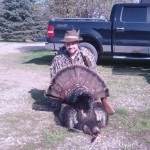 After a culmination of 3 years hunting for a a large dominant tom, Dave Acal shot this guy. He named Tomzilla.