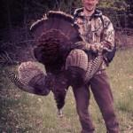 On his third ever turkey hunt, Evan stalked this 17 pound Jake for four hours on a farm near Uxbridge Ontario