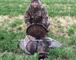 John Webb of Waterford got this 19-pound turkey with 91/2-inch beard on his third day of hunting. He got this bird on May 3, 2014.