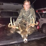 Maxwell Ruber bagged his first deer while sitting with his Dad Chris outside the little town of Wainfleet. This big guy came in at last light and Max made a beautiful shot to down this full 10 point with 3 stickers. 1st deer and 1st trophy!