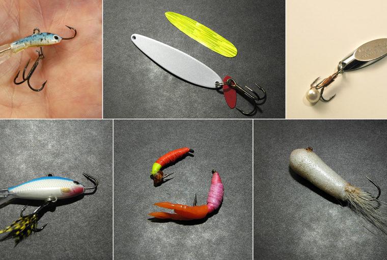 ice fishing lures