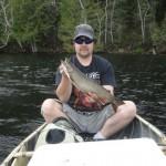 Average summer day splake fishing for Mattie Dagelman.