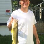 Tim Holland of Oshawa with a nice Pickerel