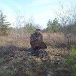 John Sader, 21, scored a personal best this season with his 24-pound turkey with a 10-inch beard and 1 inch spurs.