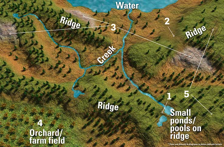 deer hunters - 5 areas
