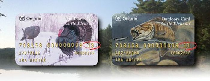renew - image of Ontario outdoors cards