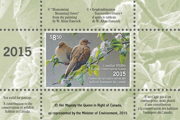 Wildlife stamp