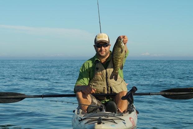 Cory Jaklitsch - Kayak fishing