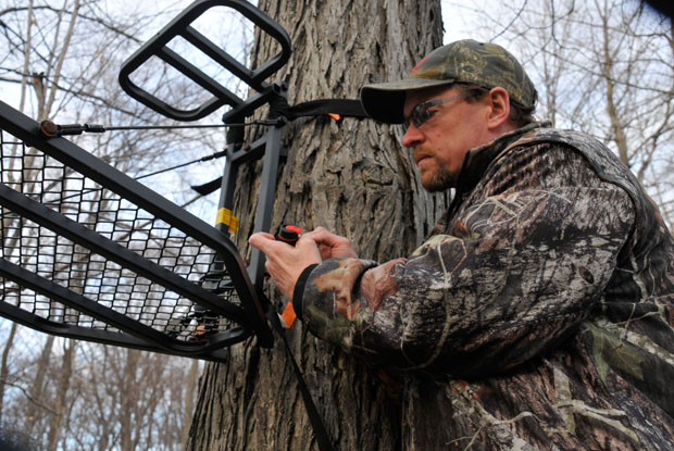 preventing theft - Tree stand theft prevention