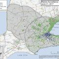rabies cases - surveillance map feature size
