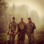 Turkey hunting is a family affair for the Iles men, Joe, Mike, and Chris!