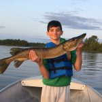 Brady Leyes out-fished his Dad when he landed this 37-inch pike. A new personal best for him!