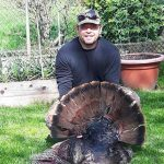 Reece Wolanski harvested this 21-pound tom with his Excalibur Crossbow.