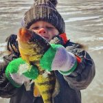 Grayson had a very successful first perch fishing adventure!