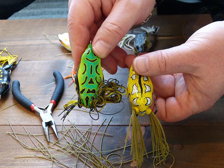 DIY frog modifications