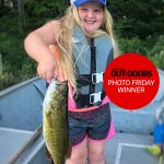 Congrats to our Nikon Canada Photo Friday winner, Barry Killen of Peterborough! His granddaughter Daisy Mae, 6, insisted on switching to what she called the prettiest lure in his tacklebox before immediately landing this smallmouth bass on it.
