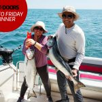 Congratulations to our winner for August 2, 2019, Ajith Thomas of Brampton! He and his wife Mareena caught a couple of nice salmon for the barbecue near Oakville on Lake Ontario.