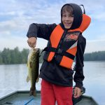 Will Bruder of Brighton had to be pried out of bed before dawn but quickly woke up when he hooked his personal best largemouth just after first light.