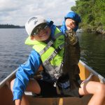 Derek Konieczny of Georgetown sent in this photo of his son, Tristen, with his biggest smallmouth bass to date, caught in Canoe Lake in Algonquin Provincial Park.