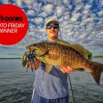 Congrats to our Nikon Canada Photo Friday winner, Nick Baroud of Ottawa! He caught this beautiful smallmouth bass on Big Rideau Lake.