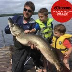 Congrats to our Nikon Canada Photo Friday winner, Marty Vlietstra of Brantford! He caught this 50.5-inch muskie before bringing it in his large livewell to the dock so his boys Blake and Richard could see it. They helped him with the release.