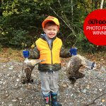 Congrats to our Photo Friday winner, Calvin Pitt of Sault Ste. Marie! He submitted this photo of his son Parker, 4, after a grouse hunt.