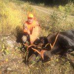 Daniel Gosselin of Niagara Falls harvested this bull in Red Lake.