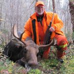Jim Hulagrocki of Longbow Lake harvested this bull at Nungesser Lake in northwestern Ontario while hunting with friends Don Jones and Roy Green of Birch Point Camp.