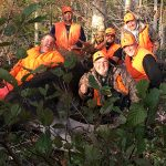 Nick Vriend of Welland submitted this photo of himself and friends Jim Vittie, John Lehocki, Evan Bearss, Les Zampar, and Bruce Ralph after their annual Cochrane moose hunt.