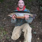 Wyatt May of Cobourg caught this 23.5-inch, 5.8-pound brook trout in FMZ 18.