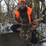 Chris Patenaude of Victoria Harbour harvested this buck during the last day of the muzzleloader/shotgun season in WMU 76.