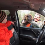 Jessy Gauthier of Dryden submitted this pic of her daughter Scotti's reaction to a beaver trapped by her dad, Sonny.
