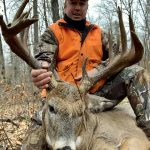 Joe Birkas of Pembroke harvested this 15-point buck in WMU 55B during this past rifle season.