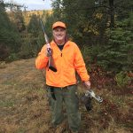 John Morton of Milton sent in this photo of his dad with a ruffed grouse he harvested near Sudbury.