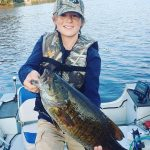 Gavin Gerrits, 12, of Enniskillen caught and released this monster bass in the Bancroft area.