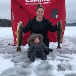 Peterborough's Jesse King submitted this photo of mom Jen and son Maxwell, 10 months, with their northern Ontario walleye catch.