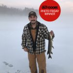 Kyle Ford of Carleton Place caught his first pike through the ice on a foggy day in Lanark Highlands.
