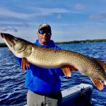 Jim Byers of Port Carling caught this 46-inch pike on a pink X Zone swimbait in Muskoka early last September.