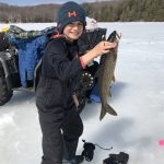 Seth Craymer of Baysville caught this beautiful lake trout on Lake of Bays while self-isolating with his parents.