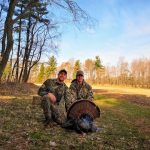 Timothy and Jared Wiebe harvested this turkey on opening weekend.
