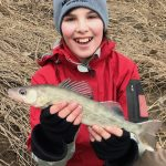 Photo Friday winner, Jason Barnucz of Delhi and son, Trevor, were fishing the Thames River prior to the season closure when Trevor caught his first walleye.