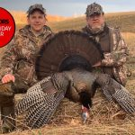 Photo Friday winner Jason Frye of Collingwood and his father, Wayne, called this impressive tom in from 20 yards on a beautiful early morning hunt on Blue Mountain.
