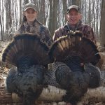 Photo Friday winner Ken Hall of Midland and daughter, Jamilyn, harvested a turkey double header on opening day.