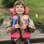 Amber Adams of Balmertown and Emma had a blast catch-and-release fishing on the cabin dock in Red Lake. This is Emma's first year reeling in and releasing her own fish.