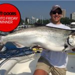 Photo Friday winner Austin LeVan of Oakville shared his 2019 Great Ontario Salmon Derby winning chinook, which was caught while fishing solo out of Bronte, weighing 38.02-lbs.