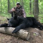 Vince Tricoci of Tottenham was reminded that hard work pays off when he was successful with his first-ever DIY bear hunt using bait over a tree stand in WMU 46 near Bala.