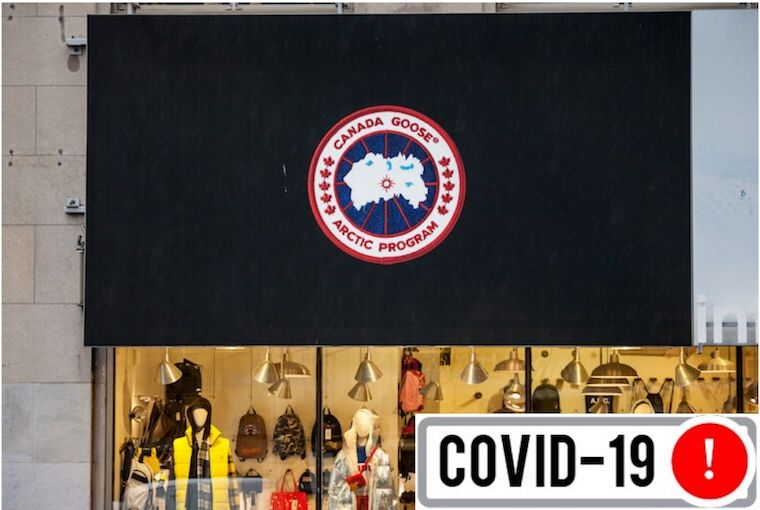 Canada Goose storefront