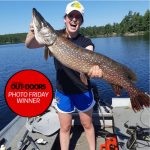 Photo Friday winner, Mark Beaven of Blyth and daughter, Julia, caught this 43-inch northern pike while trolling on the upper French River.