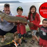 Photo Friday winner Nathan McPhee of Guelph and son, Griffen, 6, caught this giant northern pike in Campbell Bay on Manitoulin Island, alongside Grace and Wyatt McPhee. They measured the fish (46 inches) and quickly released it.